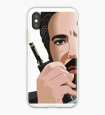 Hans Gruber - Radio silence iPhone Case