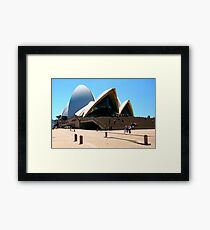 Space, Time and Architecture Framed Print