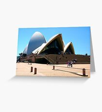 Space, Time and Architecture Greeting Card