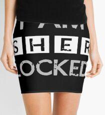 I AM SHER - LOCKED Mini Skirt