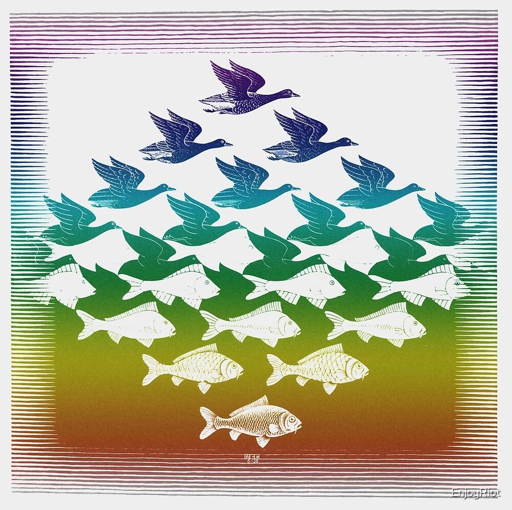 Souvenir from Netherlands:  Escher by EnjoyRiot