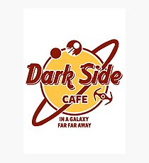 Dark Side Cafe Photographic Print