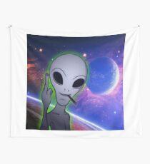 alien  Wall Tapestry