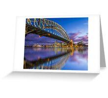 Magnificient Sydney Harbour Bridge Greeting Card