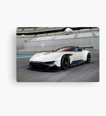Aston Martin Vulcan at Yas Marina F1 Circuit Canvas Print