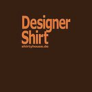 designer shirt shirtyhouse orange by fuxart