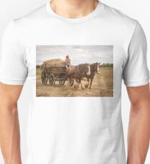 Carting Hay Unisex T-Shirt