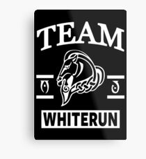 Team Whiterun Metal Print