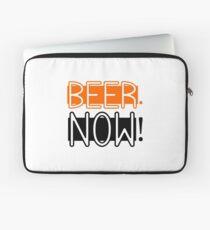 Beer Drinking Drunk Humour Ale Lager Love Beer Now Laptop Sleeve