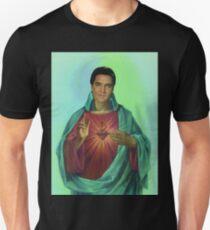 Sacred heart of Elvis Unisex T-Shirt