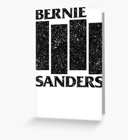 Bernie Flag  Greeting Card