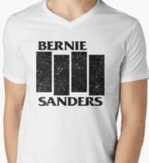 Bernie Flag  Men's V-Neck T-Shirt