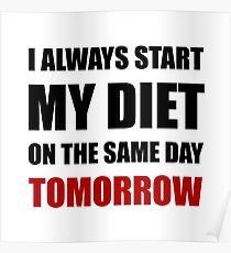 Diet Tomorrow Poster
