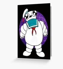 Mr Stay puft marshmallow man Greeting Card