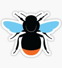 Red-Tailed Bumblebee Sticker