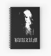 Burzum Spiral Notebook