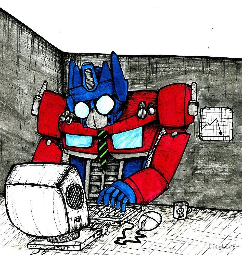 Transformers in the Office by DouglasAB