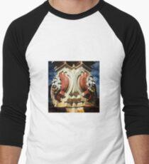 KC Plaza Fountain Men's Baseball ¾ T-Shirt
