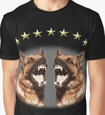 Cute Alsatian Graphic T-Shirt