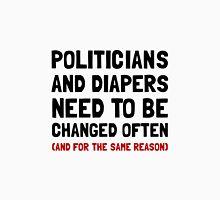Politicians Diapers Unisex T-Shirt