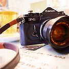 Canon F1-N for Tea by Andy Freer
