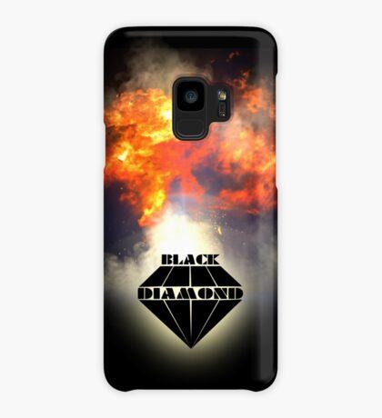 Black Diamond logo Case/Skin for Samsung Galaxy