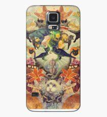 Funda/vinilo para Samsung Galaxy Meowosaurus
