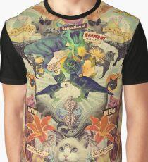 Meowosaurus Graphic T-Shirt