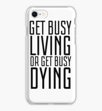 Movie Quote Shawshank Redemption Film Famous Inspirational iPhone Case/Skin
