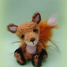 Handmade bears from Teddy Bear Orphans - Freddy Fox by Penny Bonser