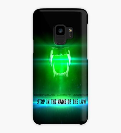 STOP in the name of the law - famous last words Case/Skin for Samsung Galaxy