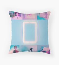 The 1975 Blue  Throw Pillow