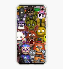 FNaF ~ 5 Five Nights at Freddys ~ Video Game Gamer Gaming iPhone Case