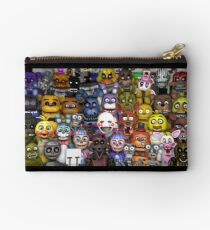 FNaF ~ 5 Five Nights at Freddys ~ Video Game Gamer Gaming Studio Pouch