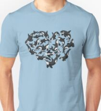 Heart Full of Whales T-Shirt