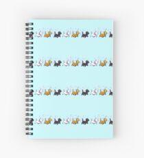 Kitten Trio Spiral Notebook