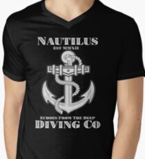 Nautilus Diving Co! (On Black/Colored Shirt Only!) T-Shirt