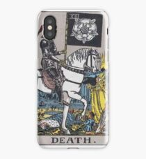 Tarot card - Death iPhone Case