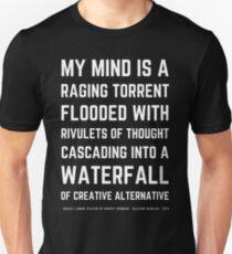 Funny Mel Brooks Blazing saddles Quote (Simple Version)! T-Shirt