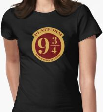 Platform 9 3/4 Womens Fitted T-Shirt