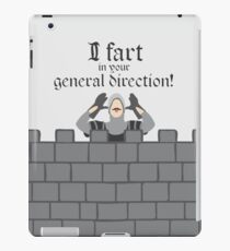 Monty Python French Taunting Guard iPad Case/Skin