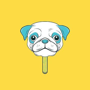Pugsicle  by strangethingsA