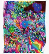 Trippy Hippy Poster