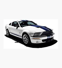 Ford Mustang GT500 Shelby Photographic Print