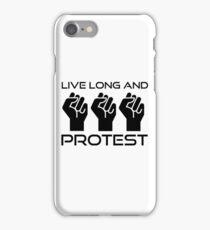 Protest Star Trek Anonymous Anarchy Punk Wordplay  iPhone Case/Skin