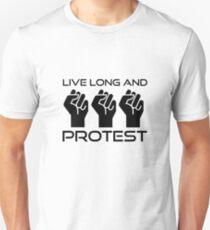 Protest Star Trek Anonymous Anarchy Punk Wordplay  Unisex T-Shirt