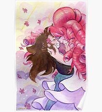 Steven Universe - Rose Quartz and Greg Universe - Something in Common Poster