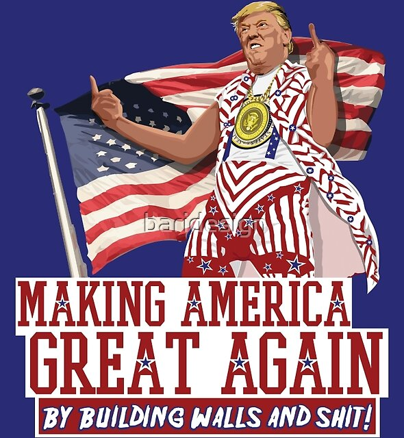 Making America Great Again! Donald Trump (IDIOCRACY) by baridesign
