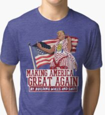 Making America Great Again! Donald Trump (IDIOCRACY) Tri-blend T-Shirt