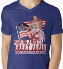 Making America Great Again! Donald Trump (IDIOCRACY) Men's V-Neck T-Shirt